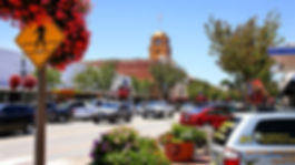 image of the city of Santa Paula CA. Dow
