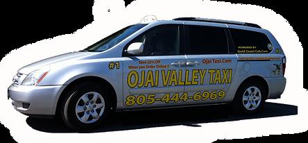I am a taxi van located in Ojai Ventura Oxnard Camarillo best taxi cabs