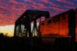 image of Ventura Train at Hobo Jungle Ventura CA.