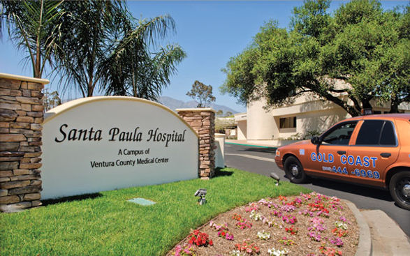 image of a taxi cab helping at the Santa Paula hospital