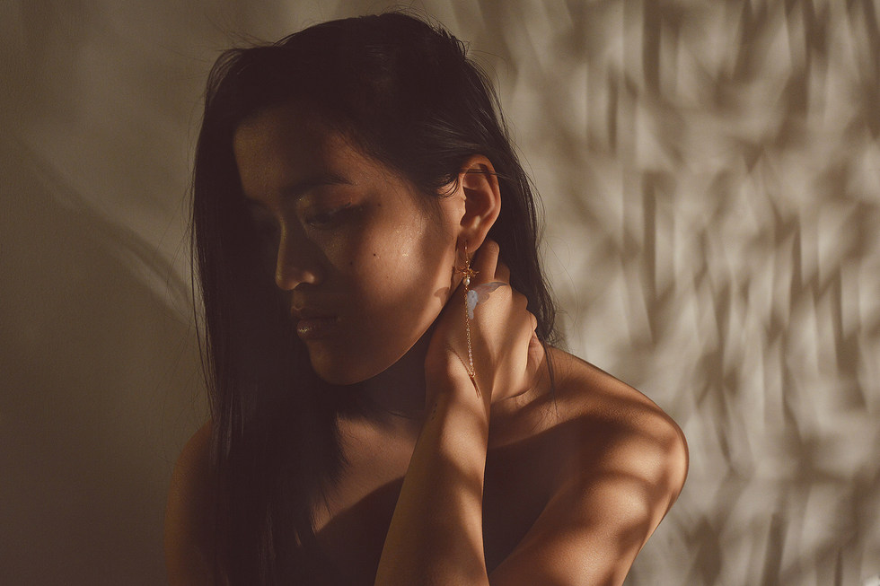 Boucles d'oreilles Psyché