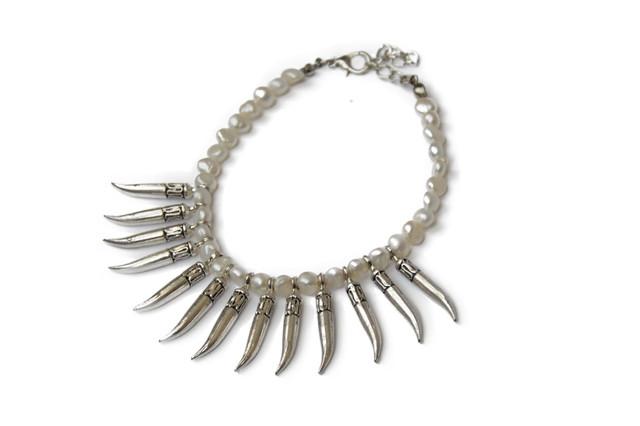 Bracelet perles et cornes