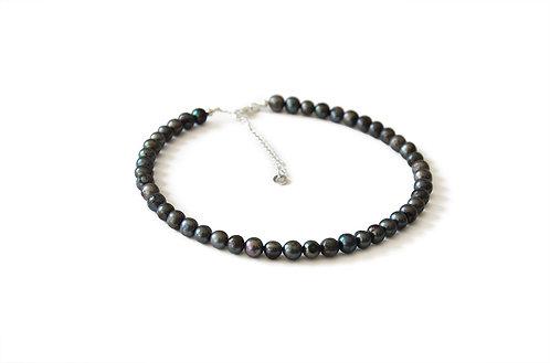 Le Choker perles noires