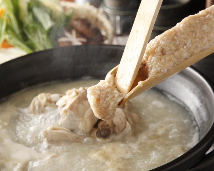スープにつみれが!
