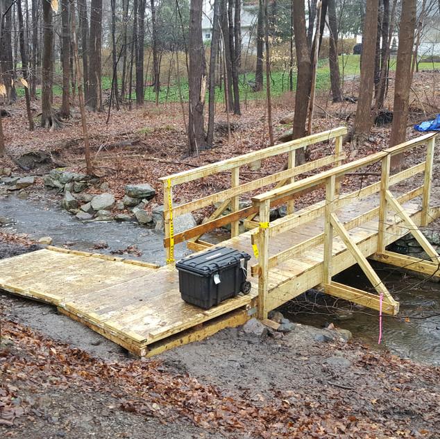 Single bridge done!