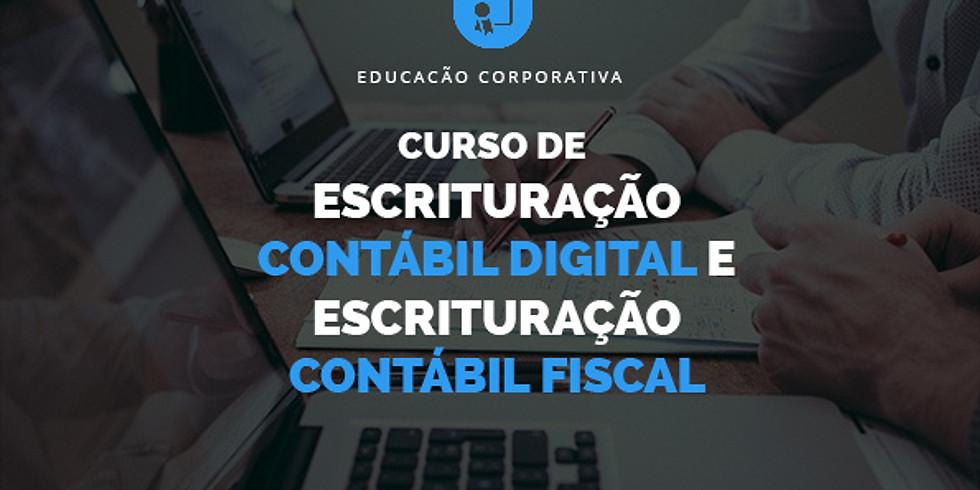Curso de Escrituração Contábil Digital e Escrituração Contábil Fiscal: Atualizações