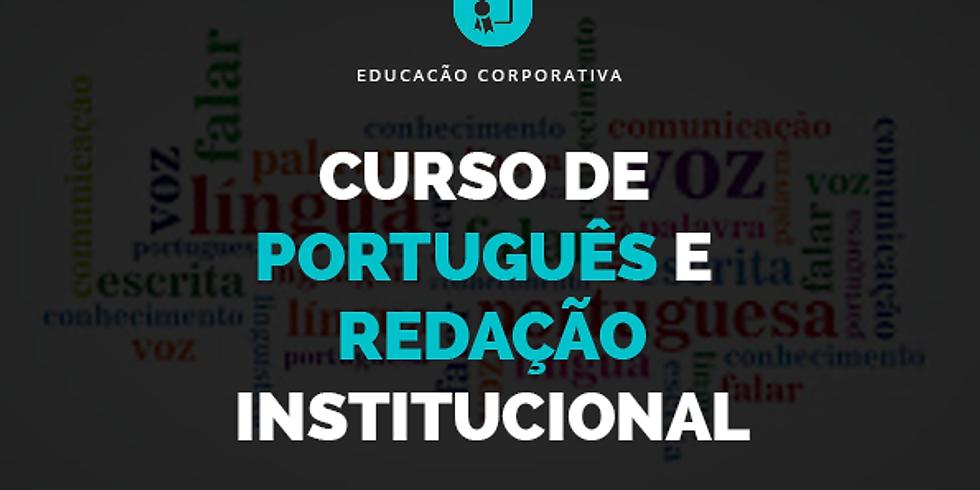 Curso de Português e Redação Institucional