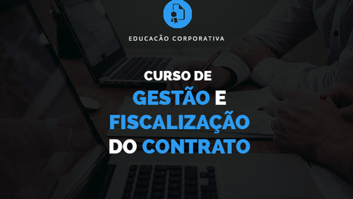 Curso de Gestão e Fiscalização do Contrato