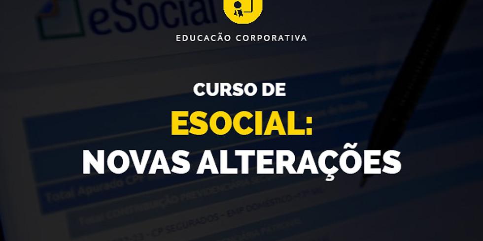 Curso de eSocial: Novas Alterações