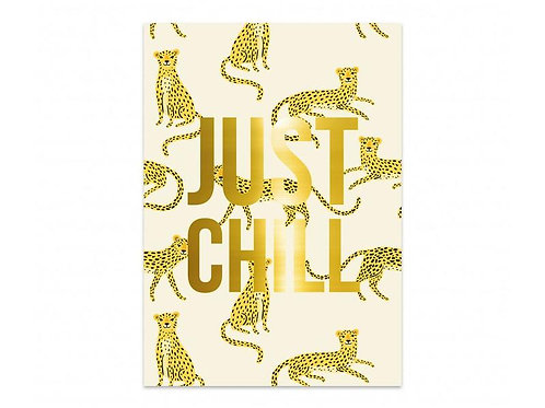 Kaart Panter 'Just Chill'