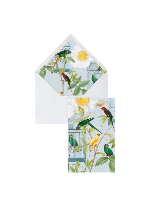 Blanco kaart 'Bird Cage'