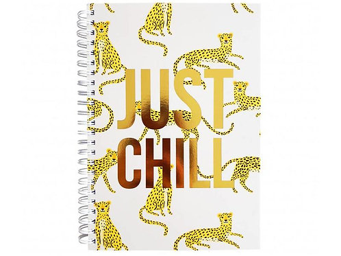 Notitieboek Panter 'Just Chill'