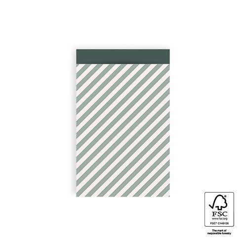 Kadozakje stripes groen