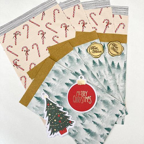 Inpakset Kerst en feestdagen