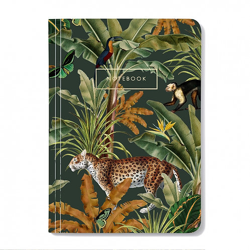 Notitieboek Mighty Jungle met panter