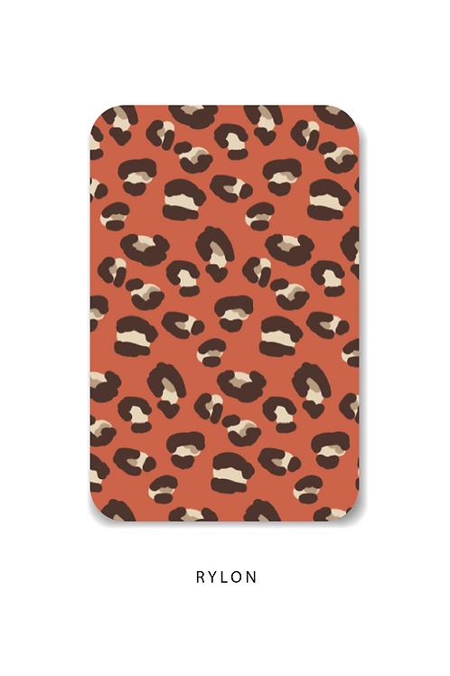 Panterprint rood minikaart