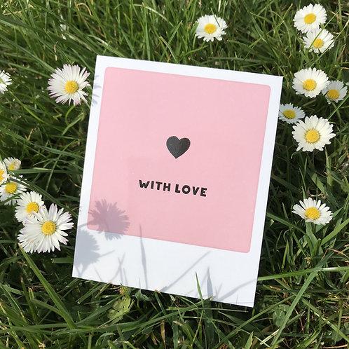 Pickmotion Mini Picks 'With love''