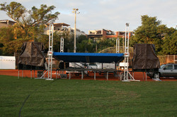 Portable Truss Roof System