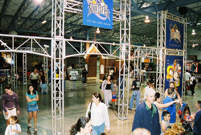 Sportsfest Truss Display