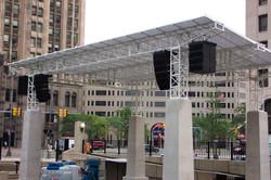 New Center Detroit Roof System
