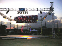 Portable Truss Roof System 2