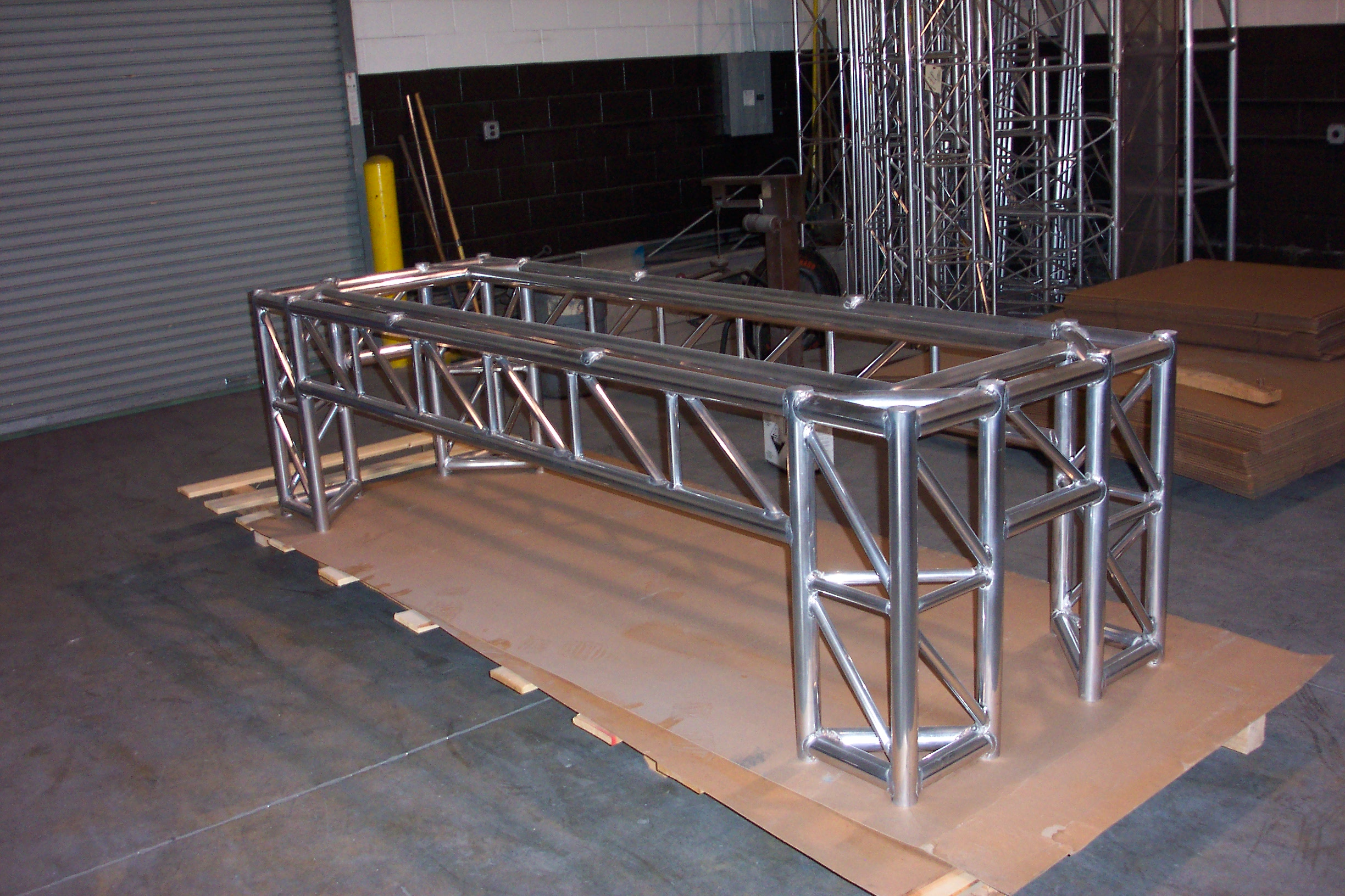 Rectangular Truss Table