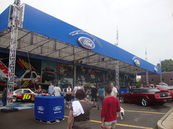 Ford Mustang Garage Truss System