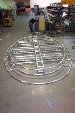 Oval Truss Roof