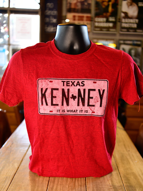 Red all roads lead to Kenney shirt
