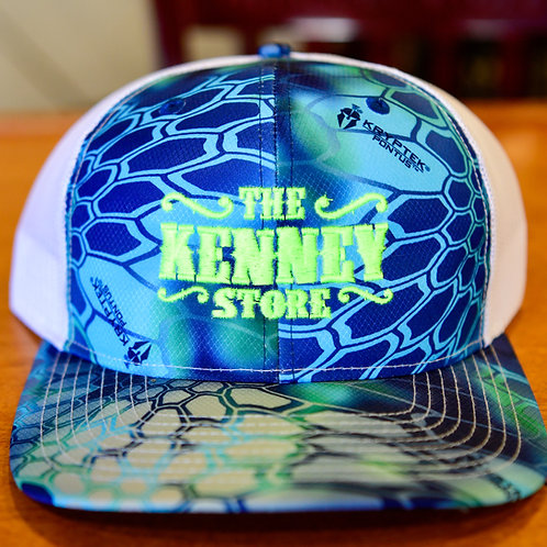 KENNEY STORE BLUE/GREEN HAT