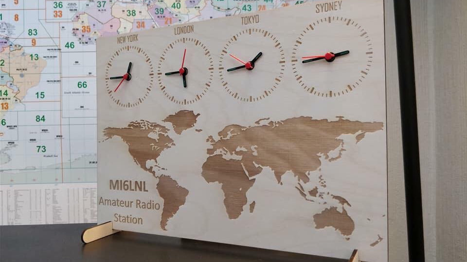 Personalised world clock