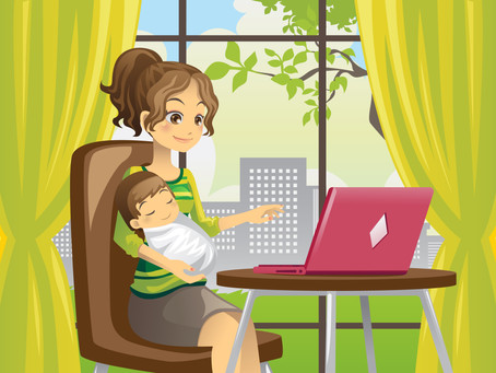 How to Work From Home as a 'New' Mom