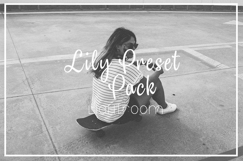 Lily Lightroom Preset Pack