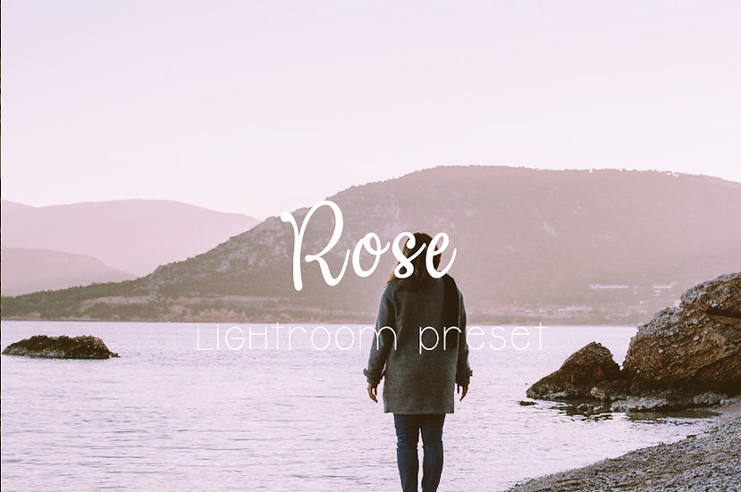 Rose Lightroom Preset