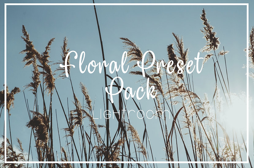 Floral Lightroom Preset Pack