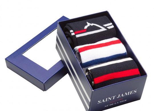 STJ - Coffret de 3 paires de chaussettes