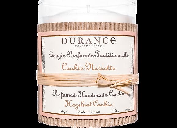 DURANCE - Bougie 180gr Cookie Noisette