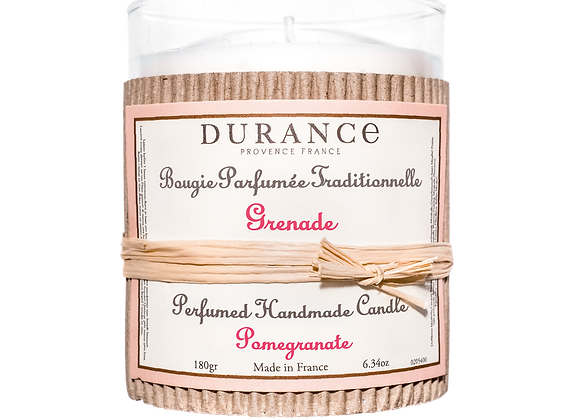 DURANCE - Bougie 180gr Grenade
