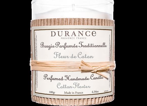 DURANCE - Bougie 180gr Fleur de Coton