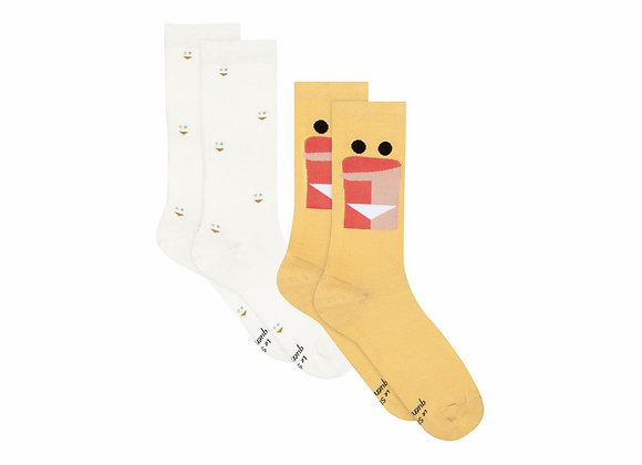 LSF - Chaussettes Lucas Duo Smiley