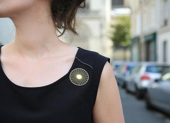 Broche Solar Petit Modèle