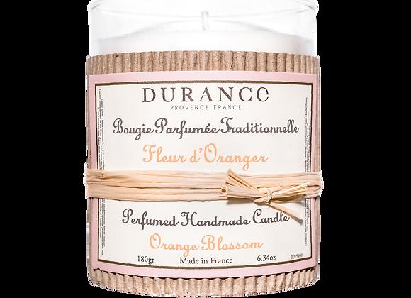 DURANCE - Bougie 180gr Fleur d'Oranger