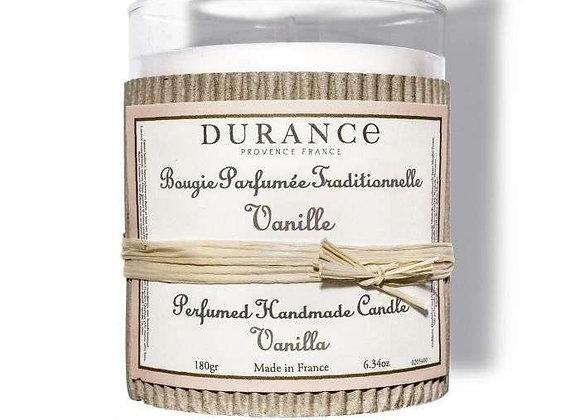 DURANCE - Bougie 180gr Vanille