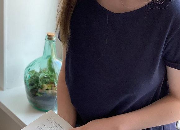 LGF - T-Shirt Rose Boutons