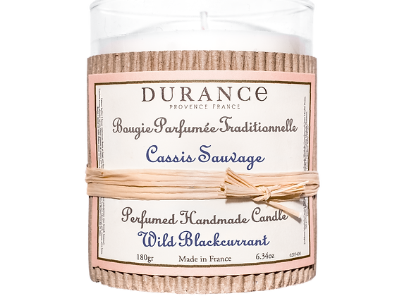 DURANCE - Bougie 180gr Cassis Sauvage