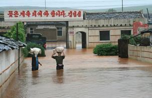 기후 변화에 의한 북한의 자연재해 현황