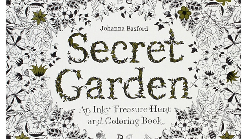 Secret Garden Adult Coloring Book 24 Pages