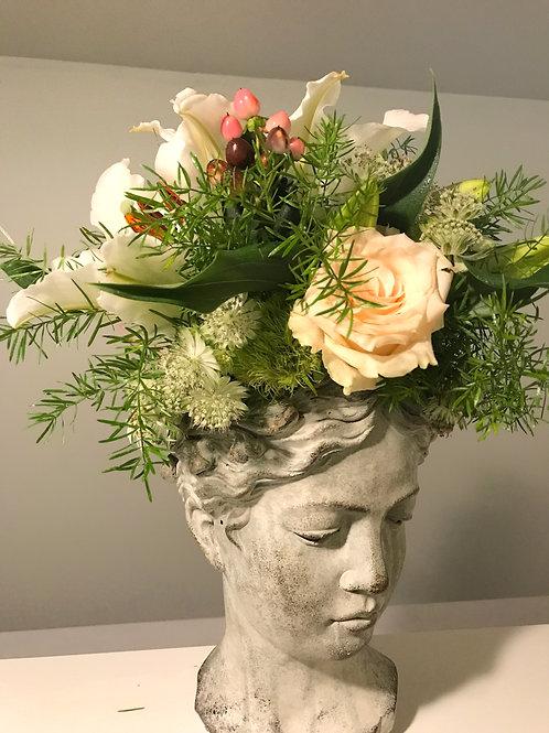 Goddess Flower Arrangement