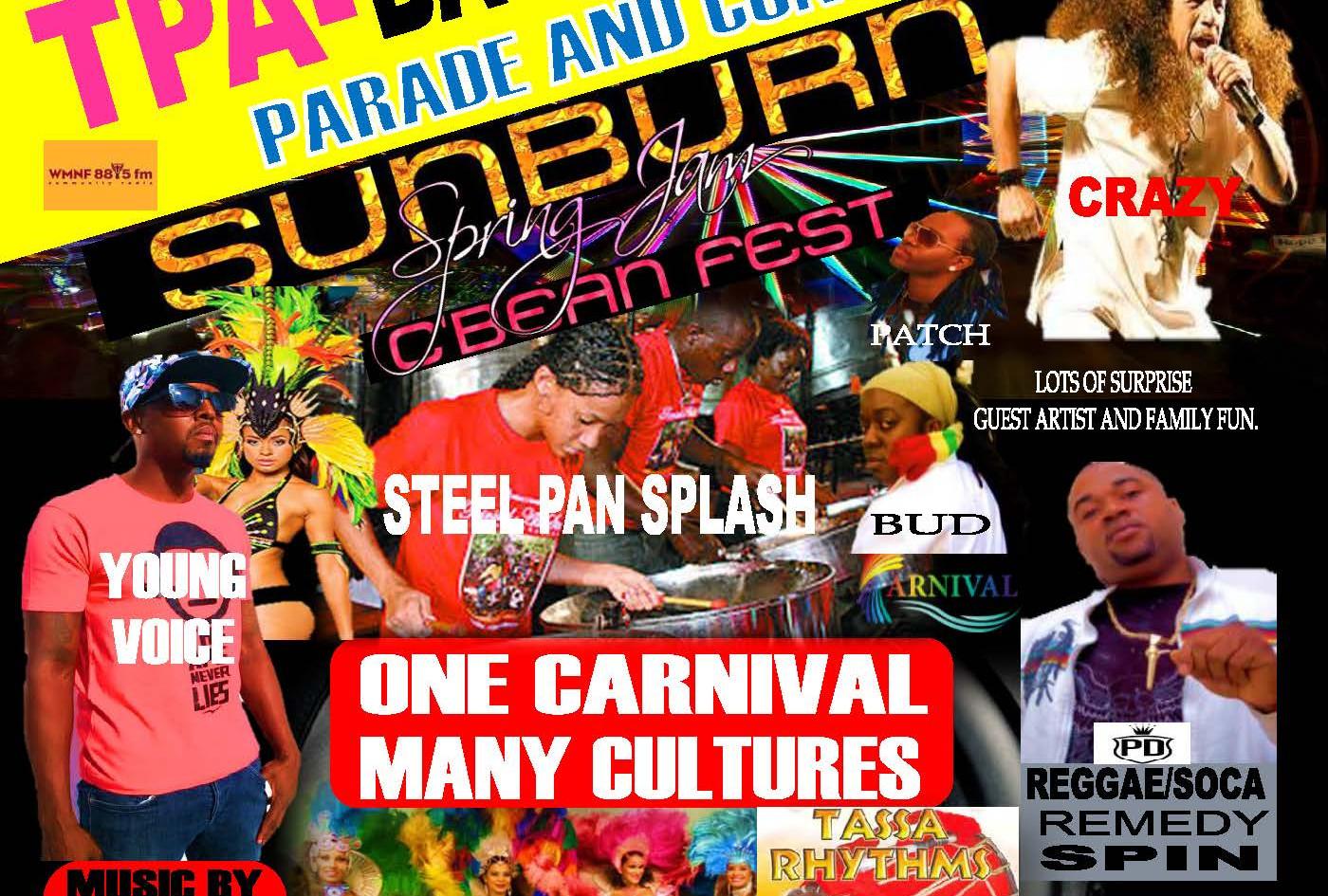 Sunburn Carnivaltbay 2015 live instgram