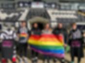 Club supports Football v Homophobia desp